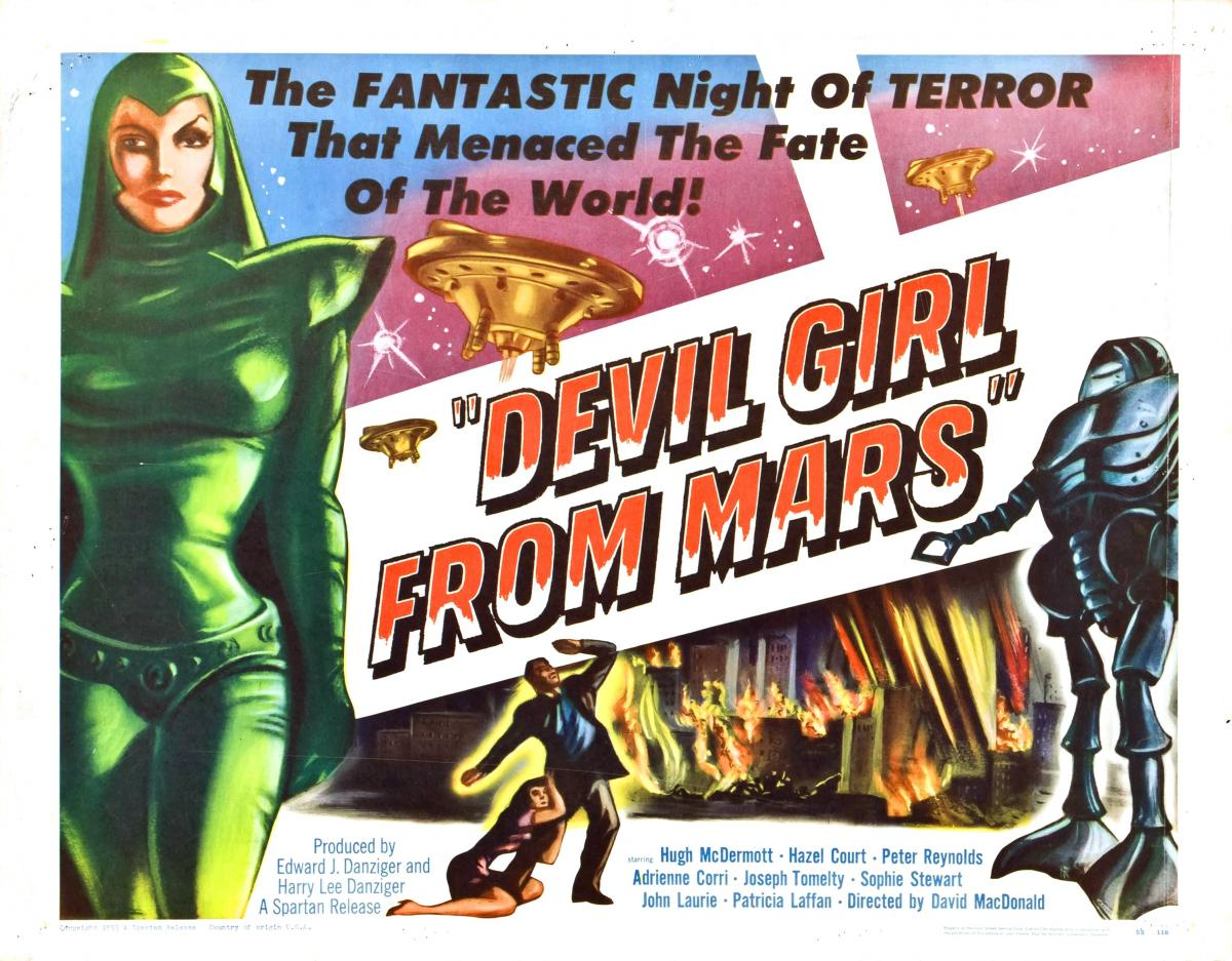 """The Devil Girl from Mars"" (1954)"